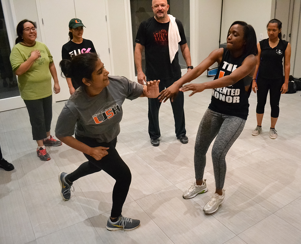 Photo of the Week: Krav Maga at Hillel