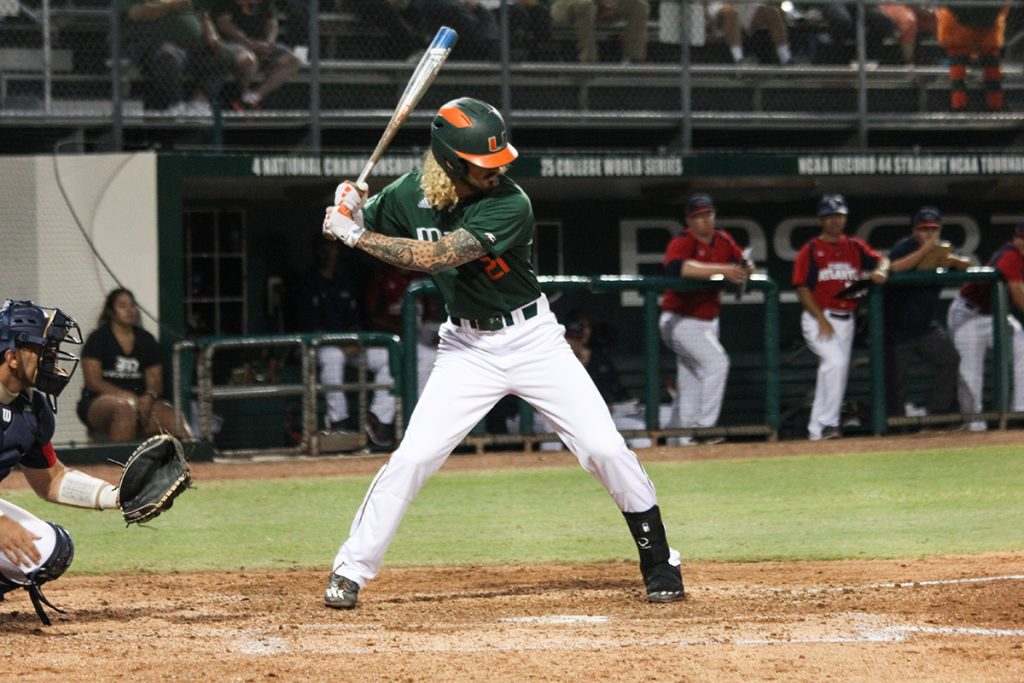 UM posts double-digit hits but unable to hold UNC in 6-3 loss