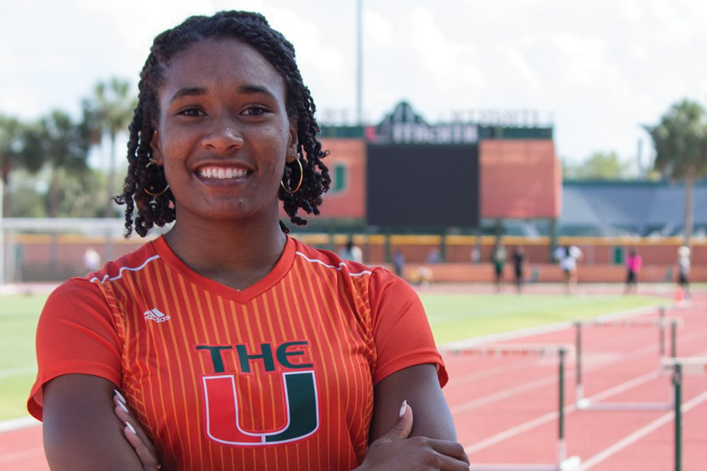 ACC champion Michelle Atherley dominates the track, stays humble