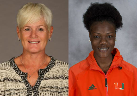 Director Amy Deem, sprinter Shakima Wimbley win regional track and field awards