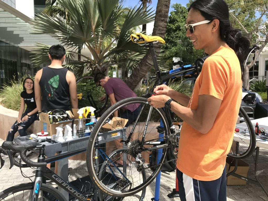 Bike club offers tune-up services, cycling trips for riders of all skill levels