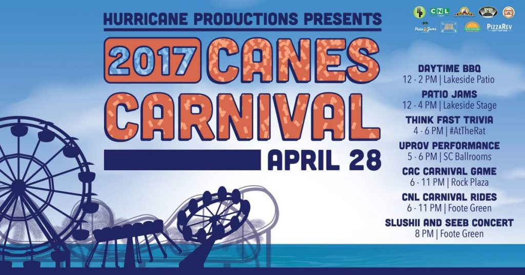 Canes Carnival to feature DJs Slushii, Seeb in concert
