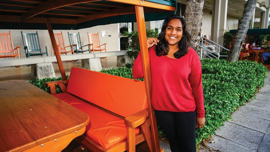 RSMAS student Aalekhya Reddam wins Who's Who