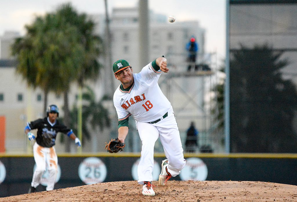UM falls to Duke 5-2 in extra innings