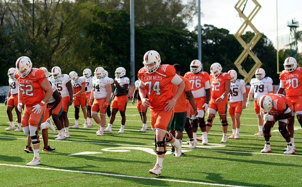 Canes football defense shines in final scrimmage of spring training