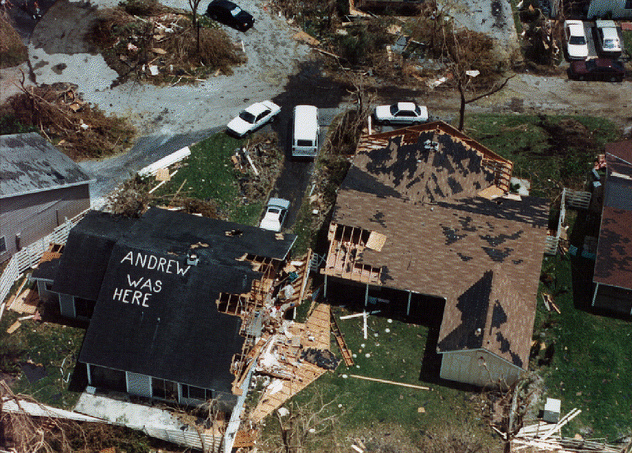 25 years ago today: Hurricane Andrew hit Southern Florida