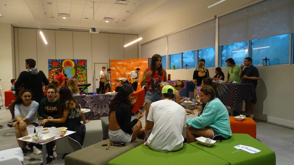 UM Hillel hosts first Tel Aviv Night, engages new and returning students with Israeli culture