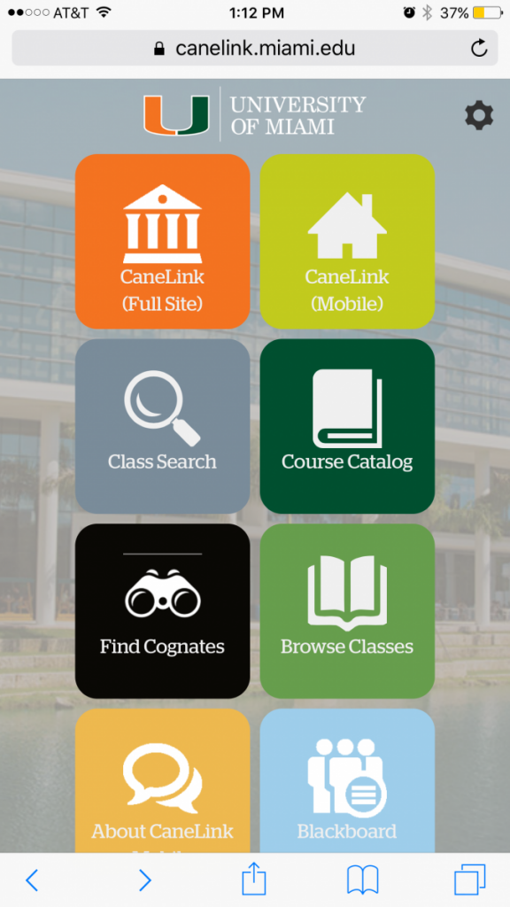UM rolls out new Canelink mobile version with new school year, offers easy access on the go
