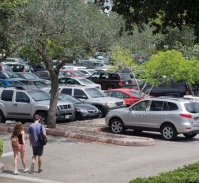 A commuter student's guide to parking on a walking campus