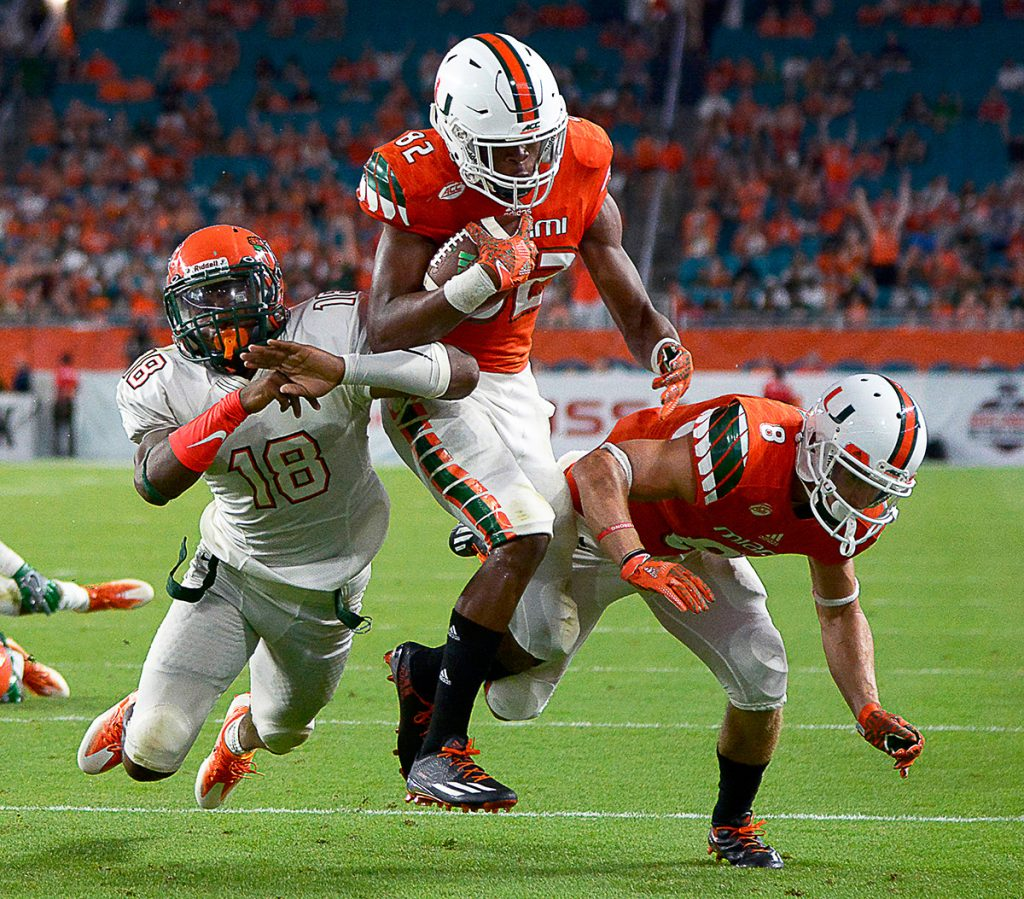 Depth at wide receiver could be key for Miami success in 2017
