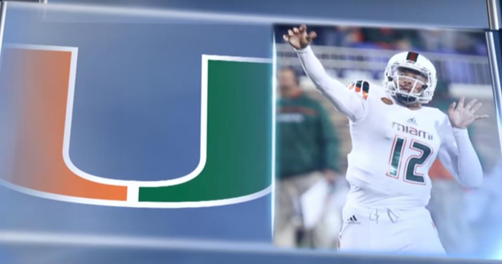 Malik Rosier named Hurricanes starting quarterback