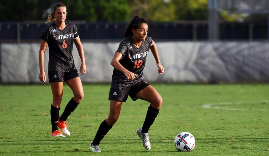 Kristina Fisher leads Canes to 2-0 victory over FIU Panthers