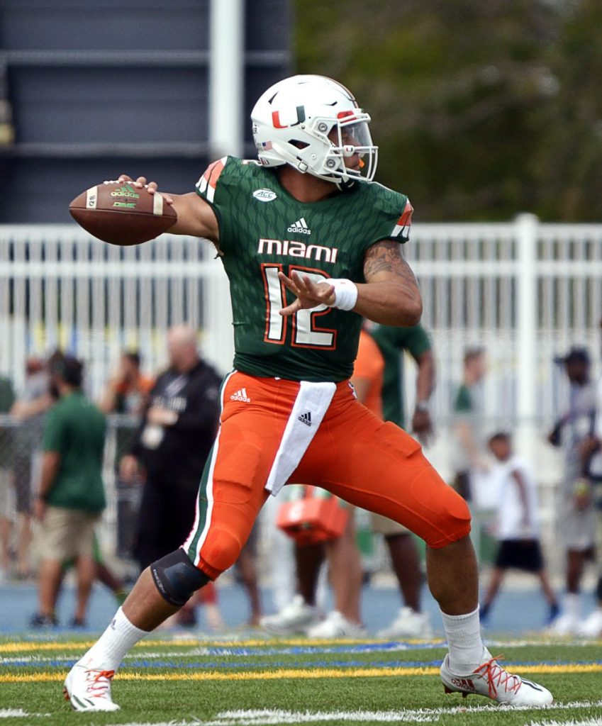 Starting quarterback Malik Rosier ready to lead Hurricanes in 2017