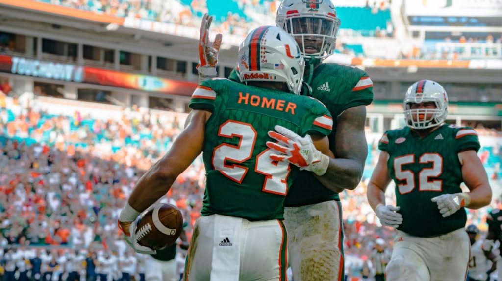 With Mark Walton out, Travis Homer set to lead the Canes' backfield