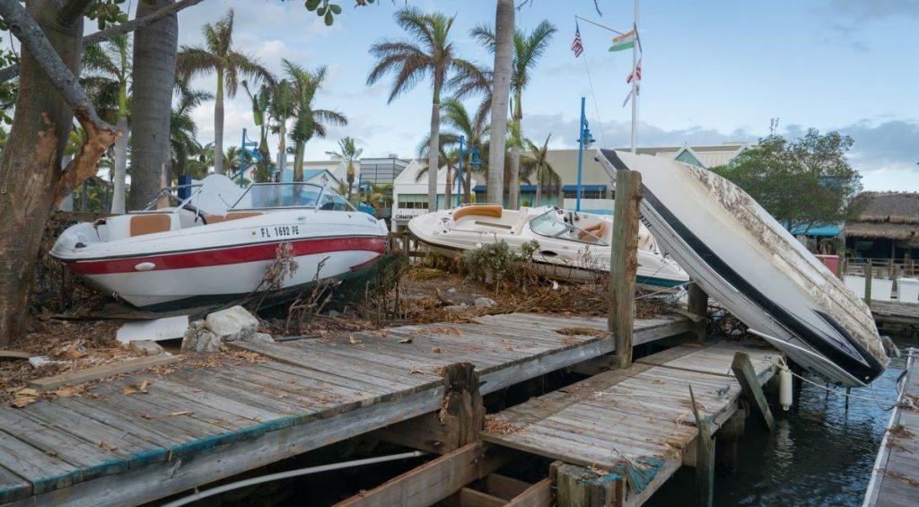 Student hotspots survive Hurricane Irma