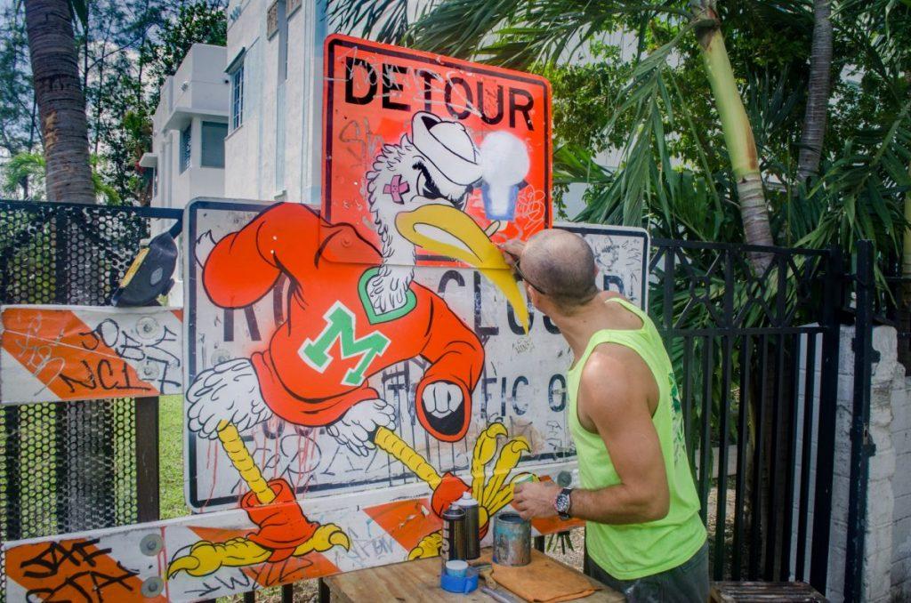 Ibis shutter art stands strong