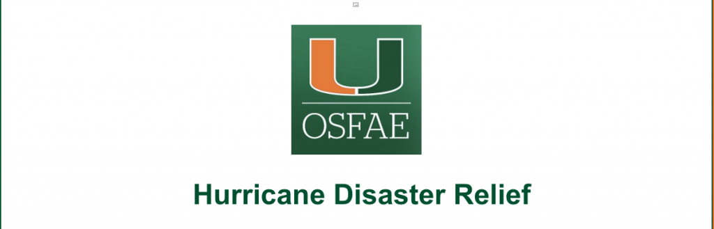 Financial aid office offers extra emergency aid to students post-Irma