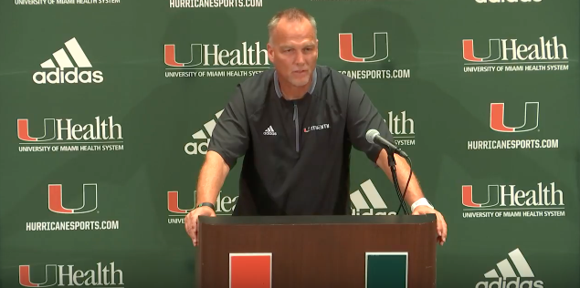 All Miami Hurricanes' sports cancelled through the weekend
