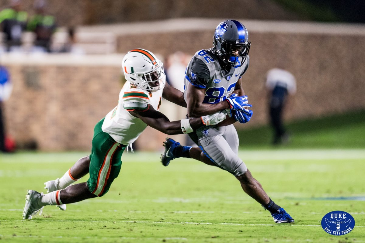 No 14 Miami Dominates Duke 31 6 For First Acc Win Of Season The