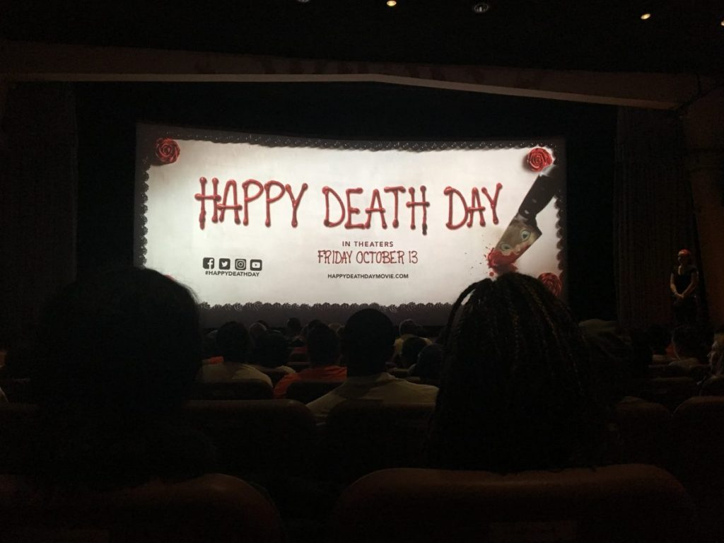 Happy Death Day screens at the Cosford Cinema