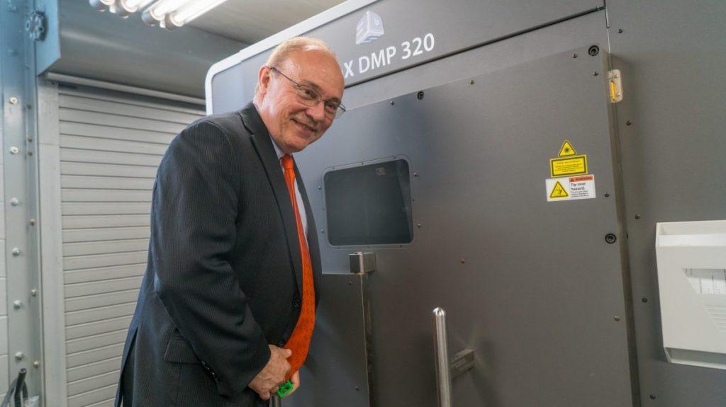 Johnson & Johnson 3D printing lab moves College of Engineering into 21st century