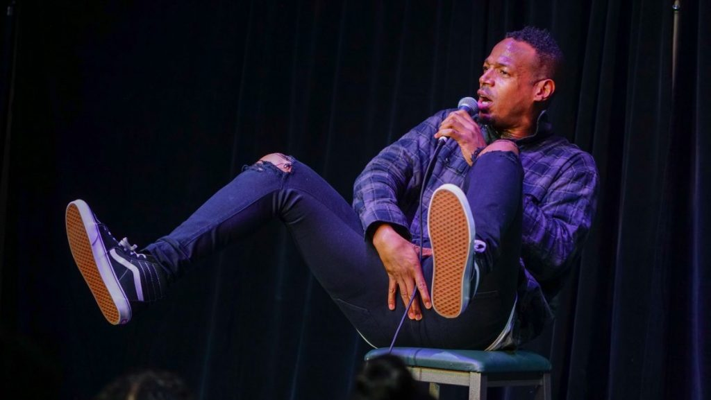 Marlon Wayans' standup routine shocks crowd
