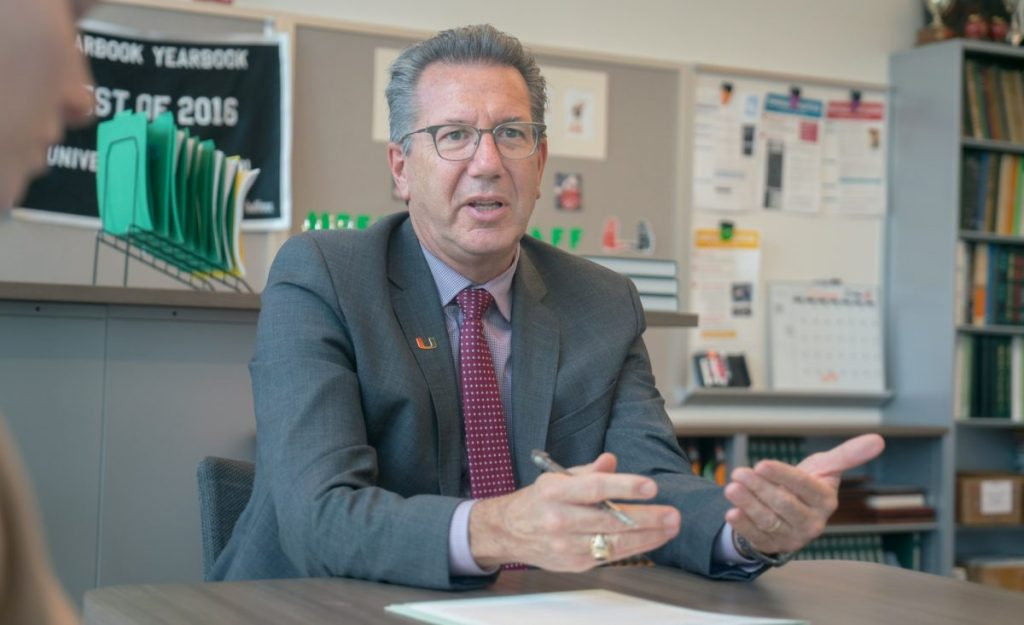 Newly appointed executive vice president and provost Jeffrey Duerk reflects on first few months