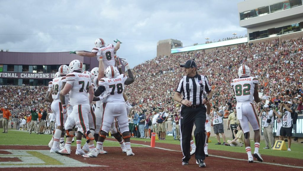 Photo of the Week: UM vs. FSU