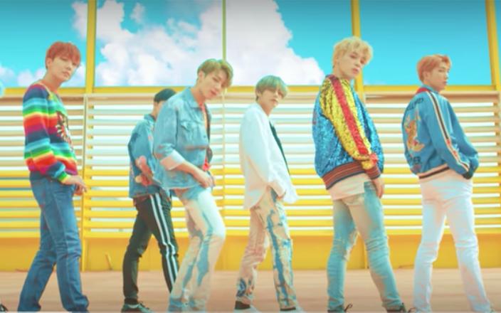 Korean pop group gains popularity in US