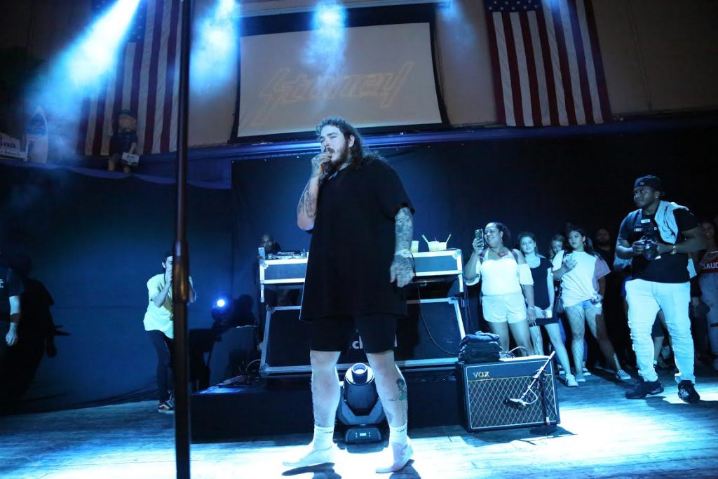 Post Malone entertains, inspires at Revolution Live