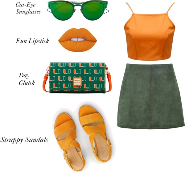 What To Wear To The Um Vs Fsu Football Game The Miami Hurricane