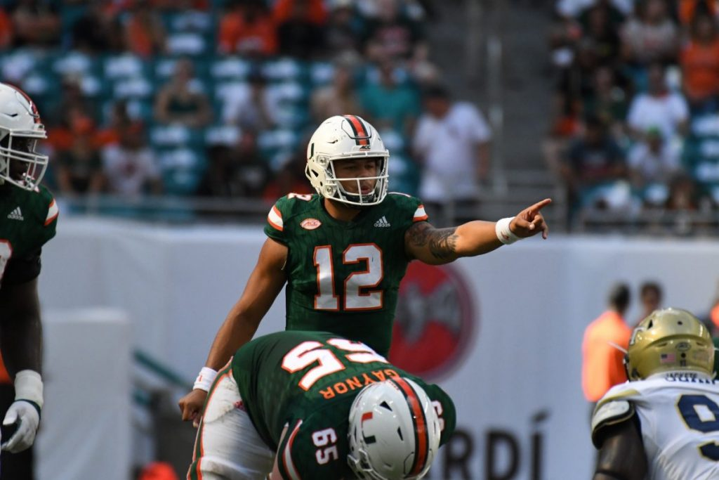 Miami football sets its eyes on high powered Syracuse offense