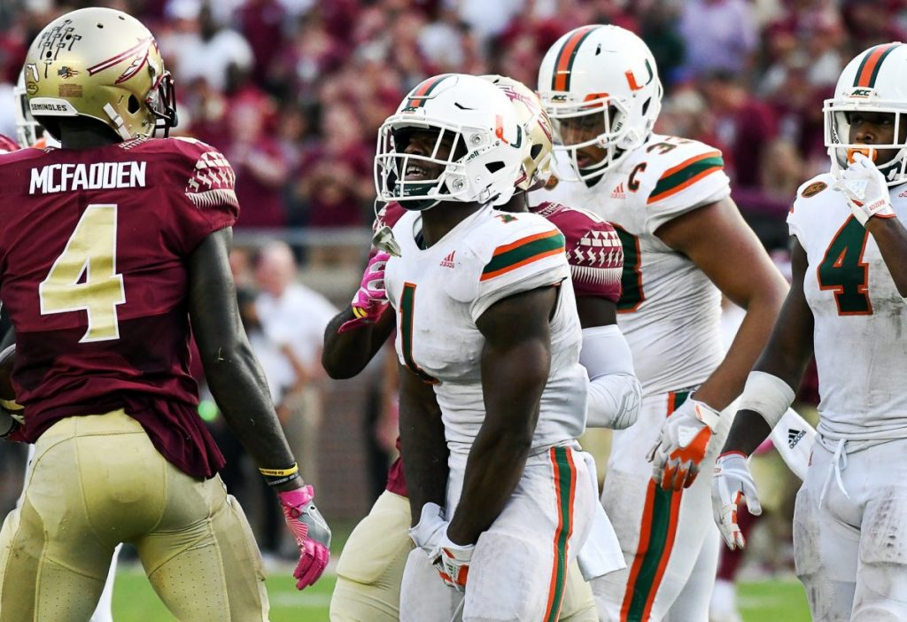Canes star running back Mark Walton out for the year
