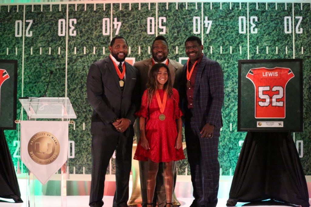 UM football legends inducted into Hurricanes' Ring of Honor