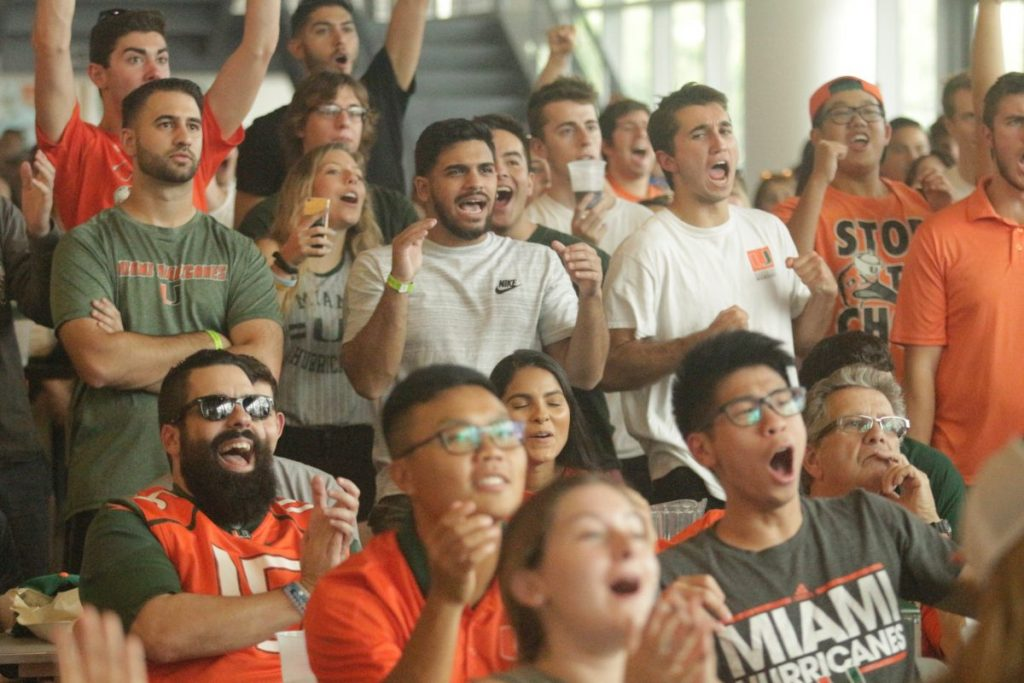 UM hosts FSU watch party for students