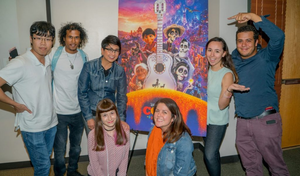 Pixar animator discusses challenges of making 'Coco' to student filmmakers