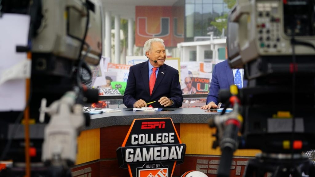 Gallery: ESPN's College GameDay and Miami vs Notre Dame