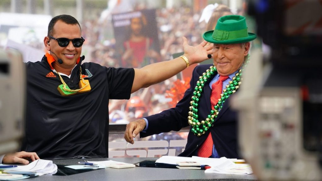 Photo of the Week: ARod Comes to College GameDay