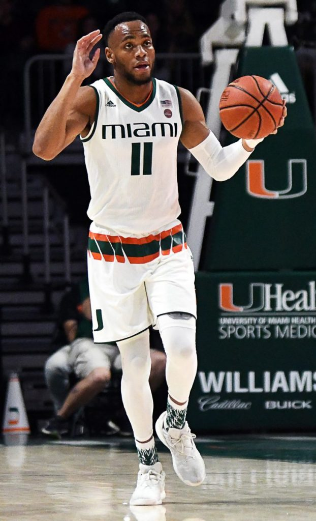 Bruce Brown has best game of young season, leads Miami past North Florida 86-65