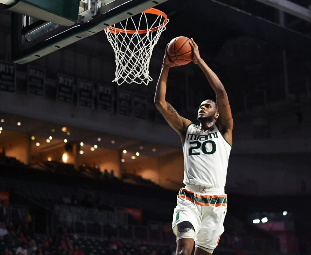Dewan Huell scores career high, No. 10 Miami gets first ranked win of season over No. 12 Minnesota