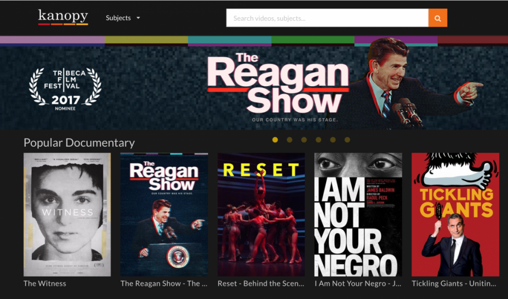 Kanopy streaming service adds more than 30,000 free films to library database