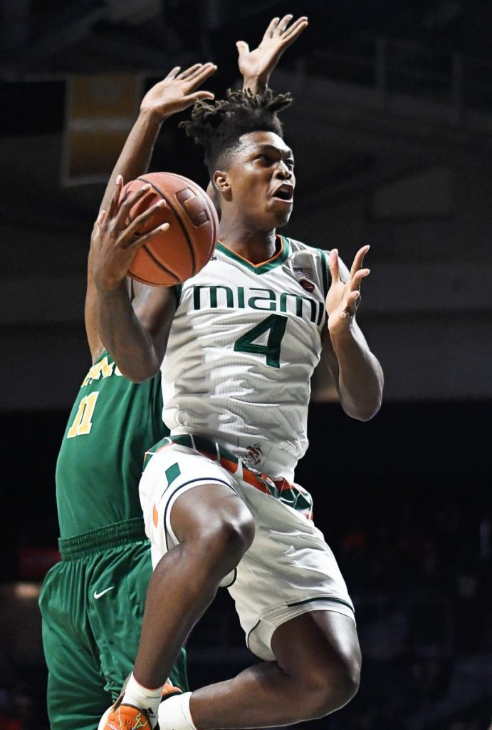 Canes survive injury scare in 90-59 win over Florida A&M Rattlers