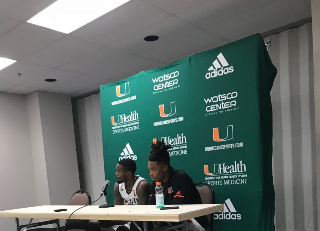 Lonnie Walker and Ja'Quan Newton
