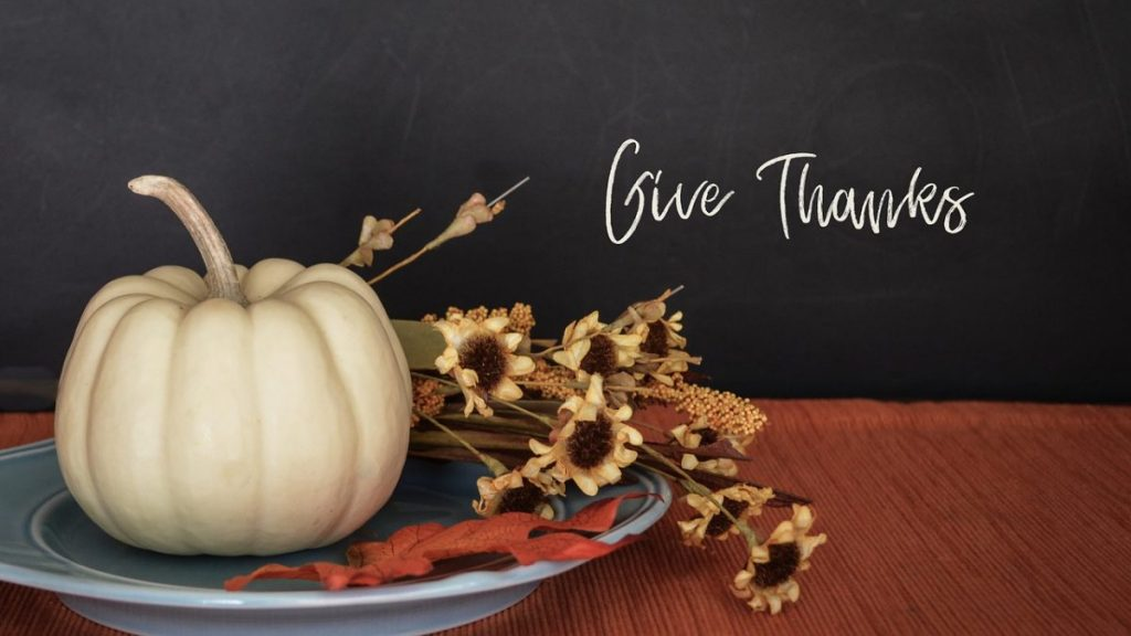 Thanksgiving offers chance to recognize small, meaningful moments