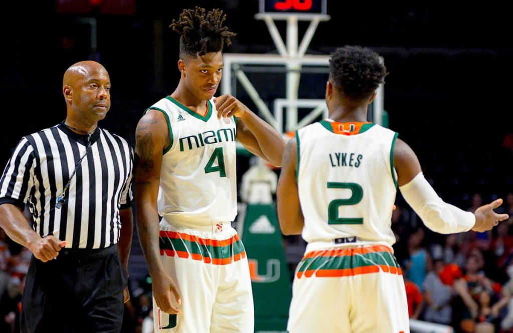 Hurricanes freshmen add faith to athleticism to become unshakeable on the court