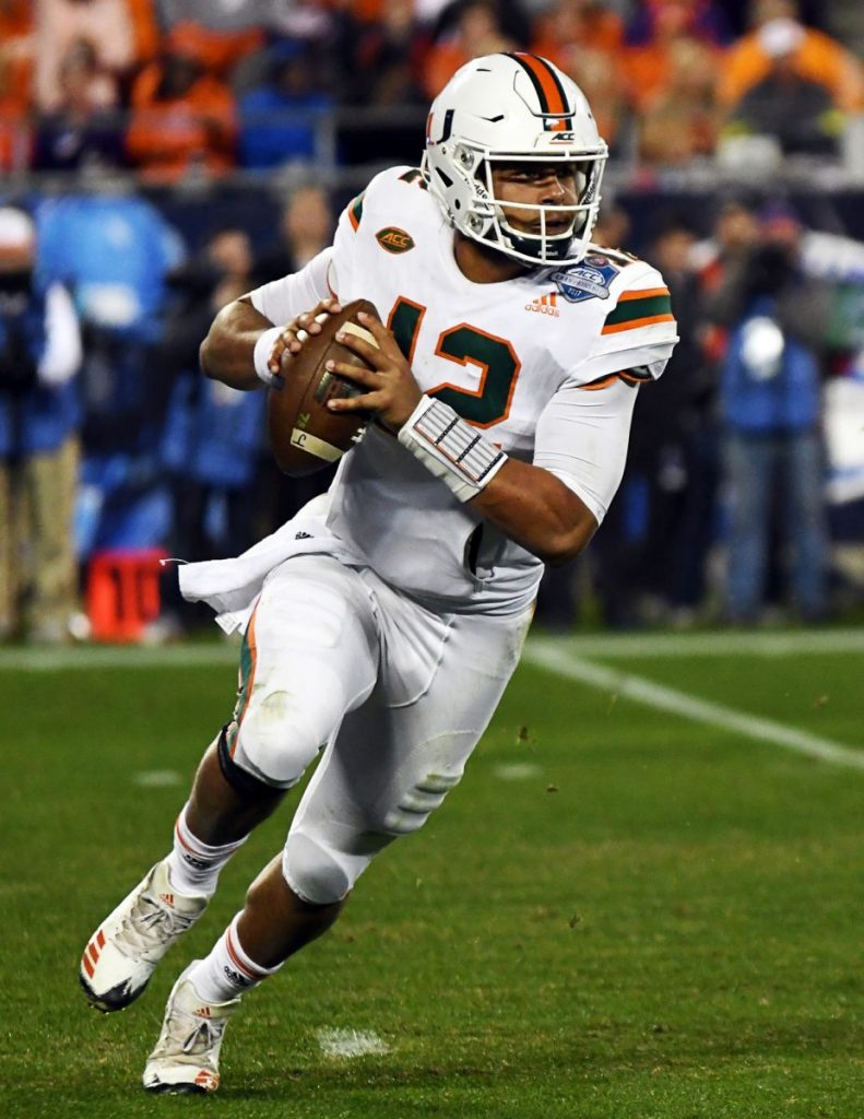 Quarterbacks prove ineffective, No. 16 Miami upset by Virginia