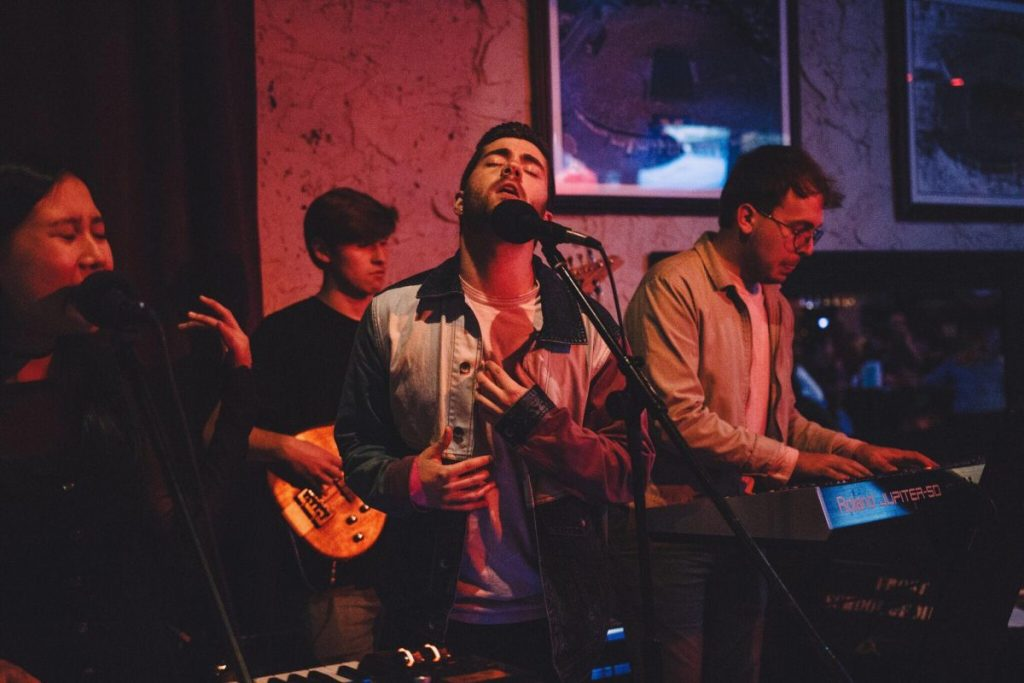Souvenir takes music from studio to stage with newly formed band