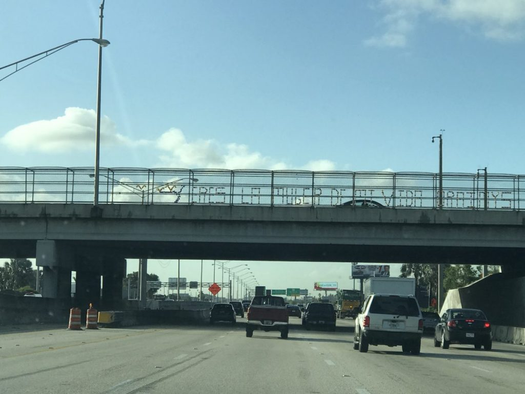 Finding romance while in traffic on the Palmetto Expressway