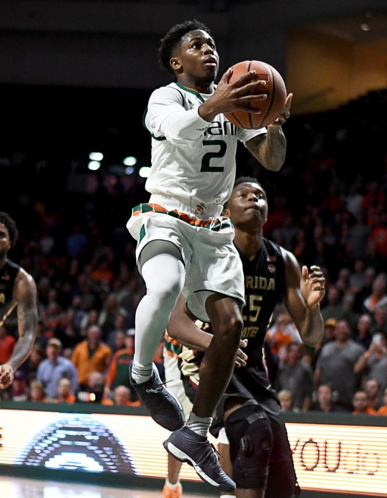 Hurricanes use efficient offensive performance to conquer Seminoles