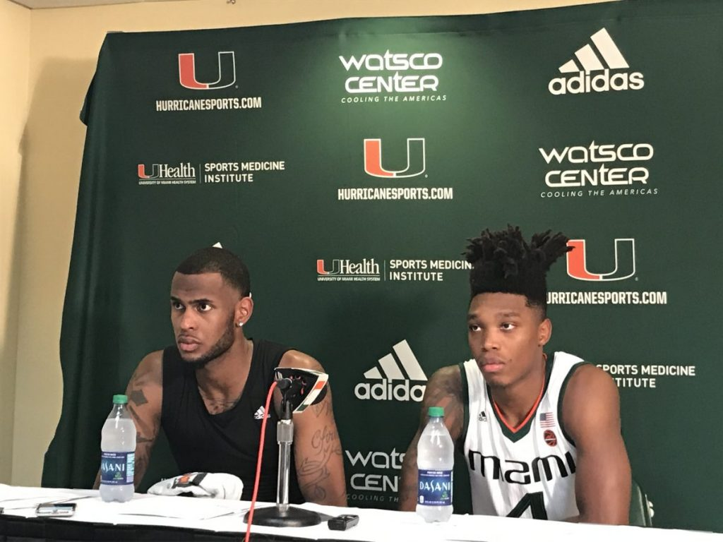 Dewan Huell and Lonnie Walker